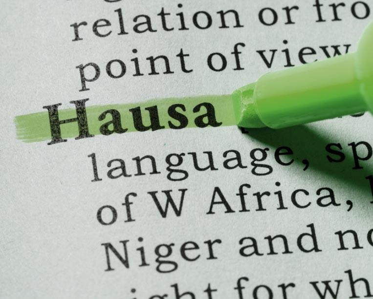 Professional Hausa Translation