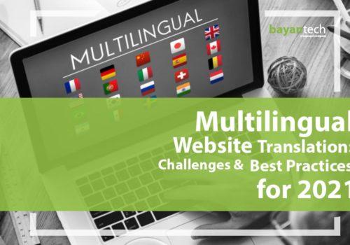 Multilingual Website Translation: Challenges & Best Practices for 2021